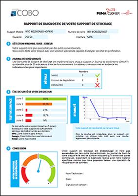 diagnostic disque dur rapport pdf